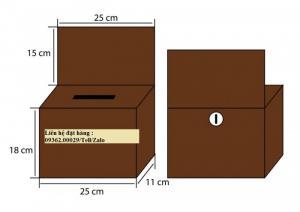 Nhận cung cấp hộp tip-box , hộp tip tiền