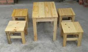 bàn ghế gổ cafe  giá rẻ tại xưởng sản xuất 00069