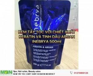 Kem Tẩy Tóc Chiết Xuất Keratin Inebrya Ý