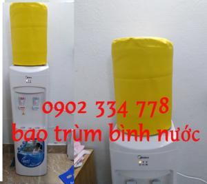 xưởng may và bán Bao trùm bình nước nóng lạnh midea màu vàng