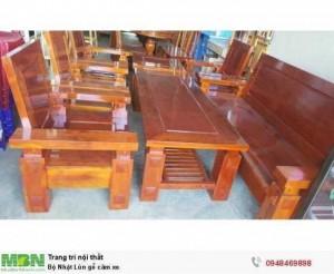 Bộ Nhật Lùn gỗ căm xe