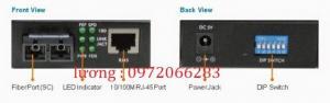 Bộ chuyển đổi Converter quang điện Netlink HTB-3100A/B 25Km đơn mốt.