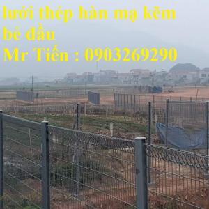 Sản xuất thi công hàng rào lưới thép mạ kẽm - sơn tĩnh điện phi 4, phi5, phi 6,.... phi 11, phi 12