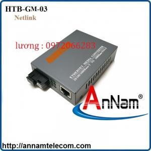 Bộ chuyển đổi converter quang 1Gb Netlink HTB-GM-03