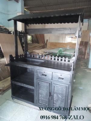 quầy cafe giá rẻ tại xưởng sản xuất HGH 668