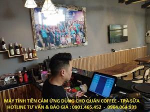 Bán Trọn bộ Máy Tính Tiền POS cho Quán Cafe tại Tân Bình Bình Thạnh
