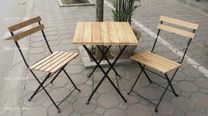 Bàn ghế cafe giá rẻ tại xưởng sản xuất HGH 77