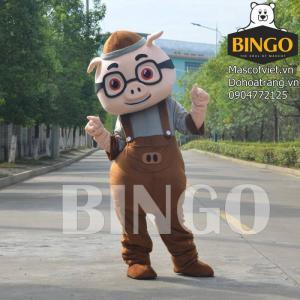 Mascot con heo giá rẻ - Cho thuê mascot con heo tp Hồ Chí Minh