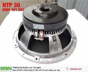 Bass 30 NTP chính hãng từ 190 coil 75 sườn trắng cao cấp