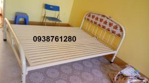 Giường sắt đơn ngang 1m6 dài 2m