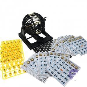 Hộp đồ chơi lồng quay lô tô  Bingo