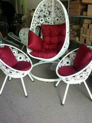 Bàn ghế cafe và xích đu giá rẻ tại xưởng sản xuất HGH 307