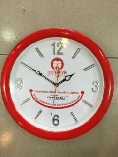 Đồng hồ treo tường in logo hình tròn đường kính 36 cm loại lớn