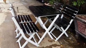 Bàn ghế cafe giá rẻ tại xưởng sản xuất HGH 103