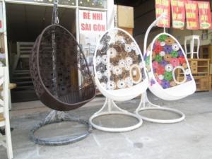 Bàn ghế xích đu giá rẻ tại xưởng sản xuất HGH 312