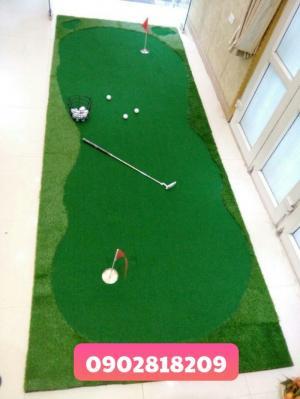 Thiết kế thi công thảm tập golf và phòng tập golf mini theo kích thước yêu cầu