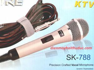 Micro có dây Shure SK-788 hàng tầm trung giá rẻ