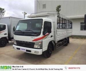 Xe tải Fuso Canter 6.5 Euro4, Xe tải Nhật Bản, Xe tải Trường Hải, Xe tải Tây Ninh, Xe tải Mitsubishi, Hổ trợ bán xe trả góp