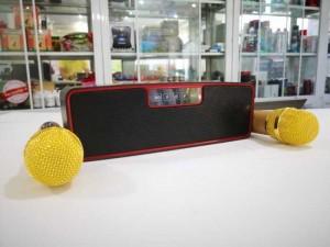 Loa Karaoke Không Dây ZBX-88 Kèm 2 Mic