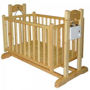 Nôi điện em bé bằng gỗ thông 2 tầng 3 trong 1...