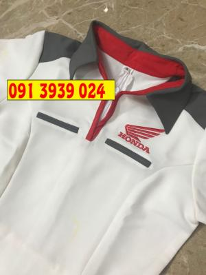 Đồng phục Honda mẫu mới nhất, cung cấp áo sơ mi bán hàng Honda mẫu mới