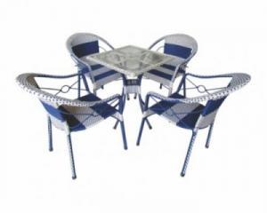 Bàn ghế nhựt giá rẻ tại xưởng sản xuất HGH 136
