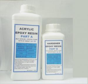 Acryic Epoxy Resin Trong Suốt E68AB Loại 3 (1kg)