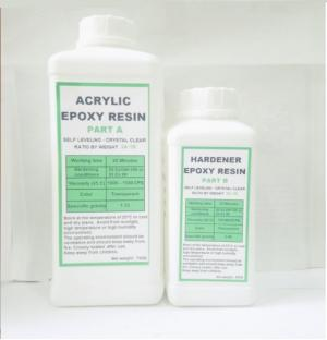 Acryic Epoxy Resin Trong Suốt R39AB (1kg) Loại 1