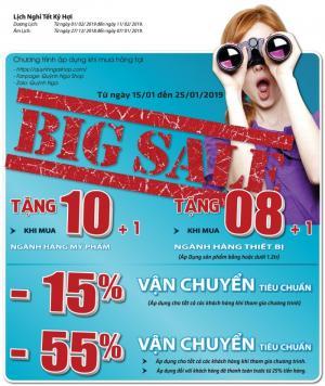 Đại Tiệc Big Sale