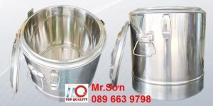 Chuyên cung cấp thùng inox giữ nhiệt - thùng inox cách nhiệt cỡ lớn - hàng nhập khẩu Hong Kong