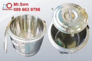 Chuyên cung cấp thùng inox - bình inox giữ nhiệt 50 lít giá tốt nhất tại Bình Thạnh