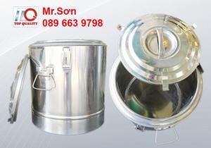 Thùng ủ inox giữ nhiệt cỡ lớn 120 lít - thùng inox cách nhiệt nhập khẩu - Giá tốt nhất tại TP HCM