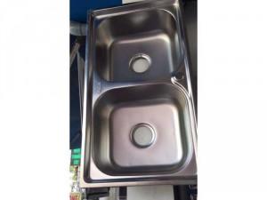 Bồn rửa chén 2 hộc cao cấp
