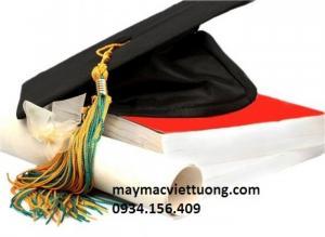 May nón tốt nghiệp, áo tốt nghiệp giá rẻ, áo cử nhân đại học