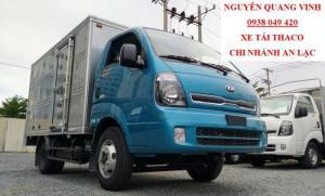 Xe Tải Kia - Thaco K250 - Euro 4 - Tải Trọng 2,49 Tấn - Hổ Trợ Trả Góp Lãi Suất Ưu Đãi