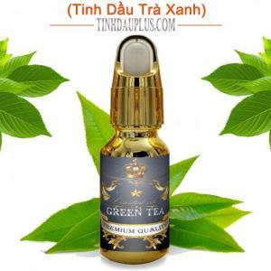 Tinh dầu trà xanh plus 20ml – Green Tea EO nguyên chất thiên nhiên Ấn Độ – Thơm mát, chống lão hóa