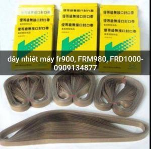 Dây vải chịu nhiệt của máy hàn miệng bao liên tục có in date FRM980, FR1000