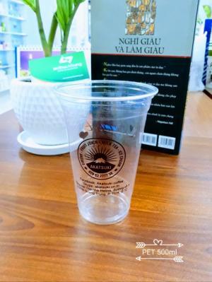 In ly nhựa nắp cầu 450ml siêu rẻ, siêu nhanh 3-5 ngày có hàng
