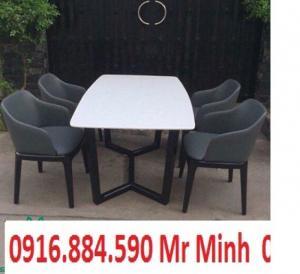 bàn ghế gổ phòng ăn giá rẻ tại xưởng sản xuất HGH 476
