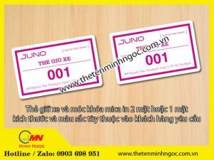 Thẻ tên đeo áo giá rẻ
