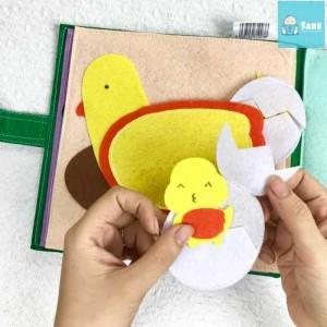 2019-01-17 16:02:19  5 Tìm hiểu quá trình gà mẹ ấp trứng Sách Vải Một Ngày Ở Nông Trại Giúp Bé Phát Triển Kỹ Năng (Từ  1-3 Tuổi ) - MSN1831125 285,000