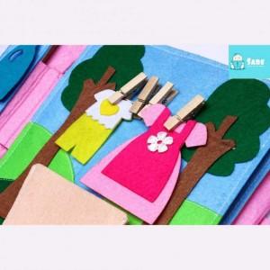 Sách Vải Cho Bé Giúp Mẹ Làm Việc Nhà (Từ 3 Tuổi ) - MSN1831126