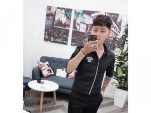 2019-01-17 21:15:41  2  Áo sơ mi nam Quảng Châu logo sọc đứng 230,000