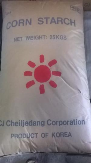 Tinh bột bắp - Hàn Quốc phân phối bởi công ty Quỳnh Nguyên