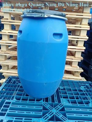 Thanh lý 450 chiếc  thùng phuy nhựa các loại 120 lít, 150l, 200l, 220, 240l ,..