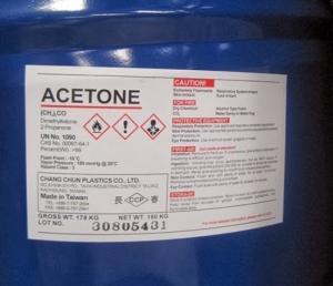 Acetone, C3H6O