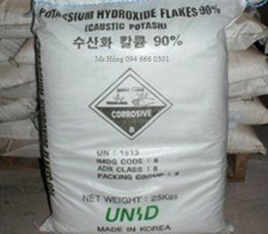 Potassium hydroxit, Kali hydroxit , KOH