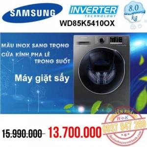 Máy giặt Samsung Inverter WD85K5410OX/SV 8kg