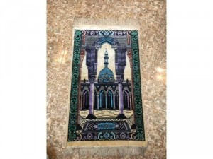 Tranh thảm Thánh đường Hồi giáo cực đẹp của Trung đông, kt 106x62 cm, giá 400k, phù hợp cho người sưu tầm đồ quốc tế, văn hoá Hồi giáo