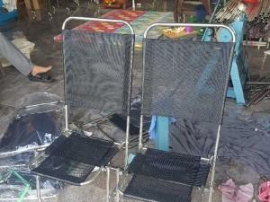 Ghế lưới câu cá inox giá rẻ nhất loại dà